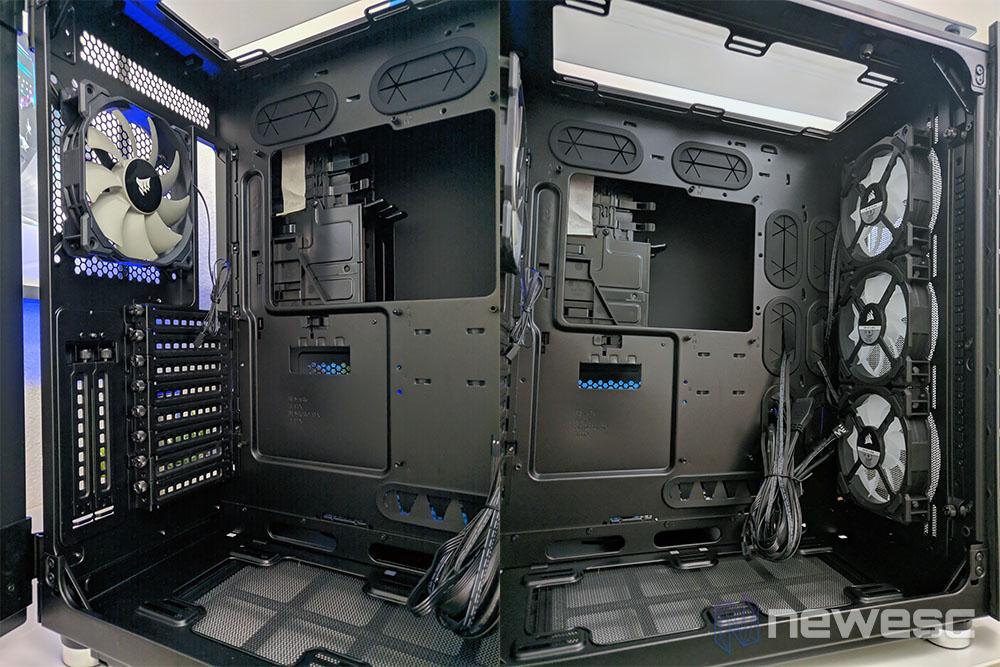 Corsair 680X Crystal principal compartimiento
