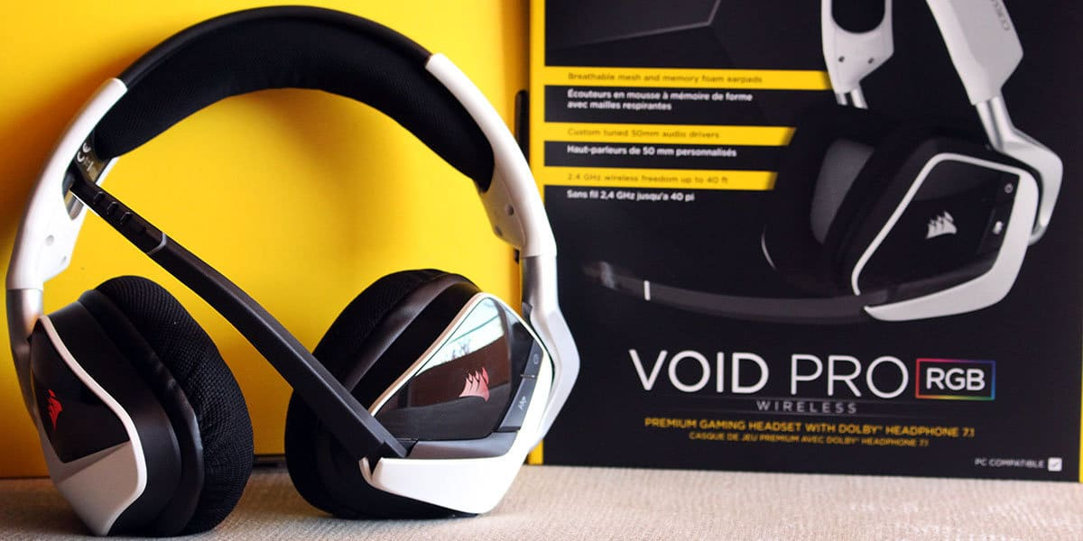 Corsair VOID PRO RGB Wireless NewEsc portada