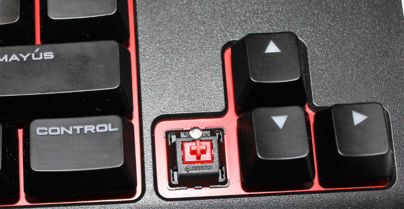 Corsair k63 switch rojo