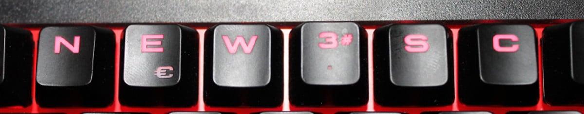 Corsair k63 teclado newesc