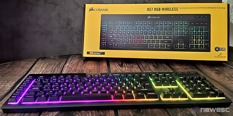 Corsair K57 RGB Wireless Frontal