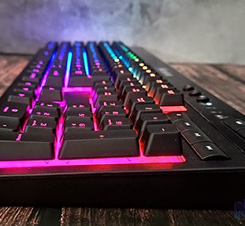 Corsair K57 RGB Wireless cabecera