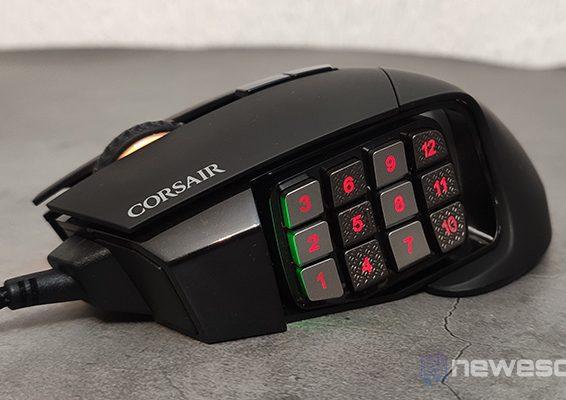 Corsair Scimitar RGB Elite Cabecera