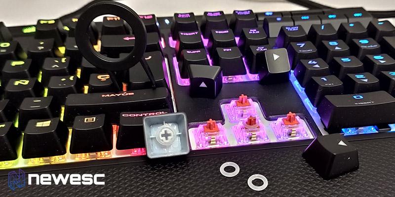 Corsair Strafe RGB Mk2 Noisedampeners