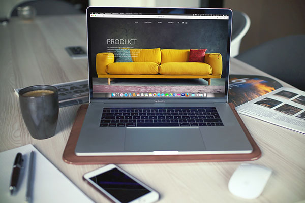 Crear web atractiva unsplash
