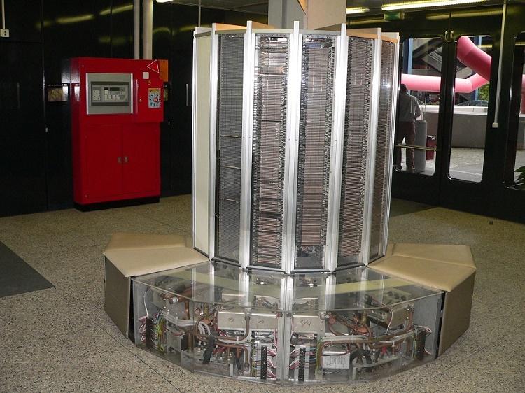 Cuarta generaciones de ordenadores Cray 1