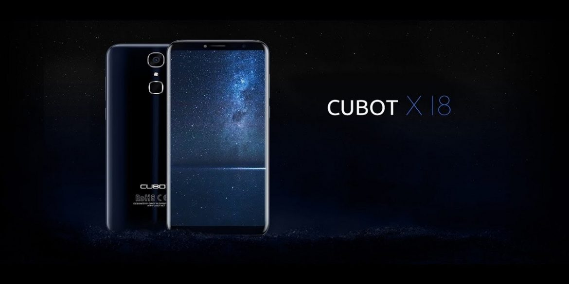 Cubot X18 wallpaper