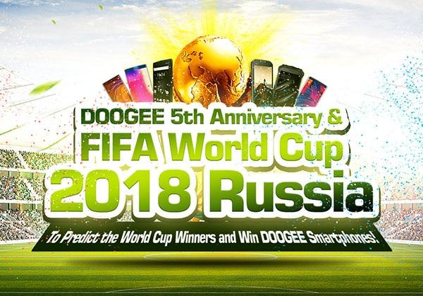 DOOGEE regala smartphones rusia 2018