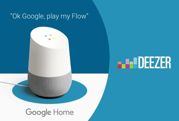 Deezer Google Home