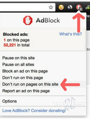 Desactivar AdBlock