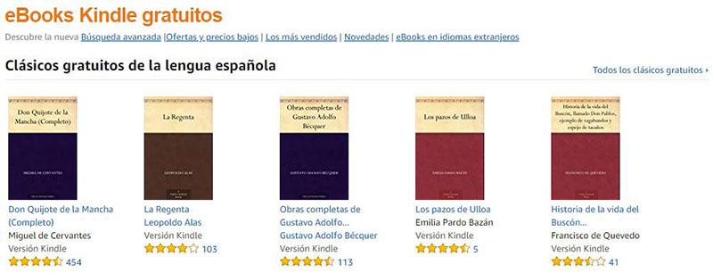 Descargar libros gratis - Amazon Kindle