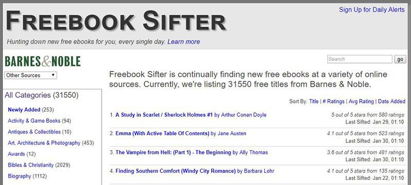 Descargar libros gratis - freebooksifter