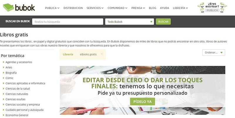 Descargar pdf gratis - bubok
