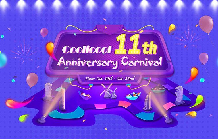 Descuentos 11 aniversario Coolicool