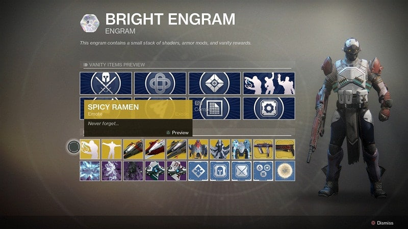 Destiny 2 Bright Engram