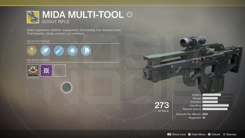 Destiny 2 MIDA Multi Tool