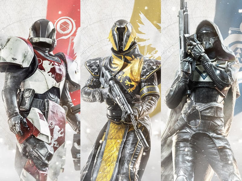 Destiny 2 personajes