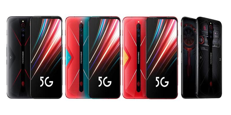 Diseño Nubia Red Magic 5G