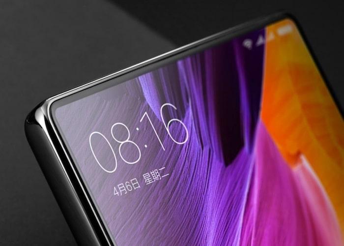 Diseño Xiaomi MI Mix 2S marcos pantalla