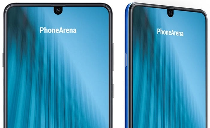 Diseño del notch Samsung Galaxy M2