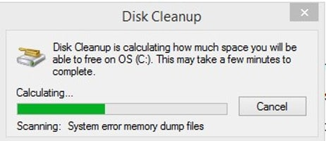 Disk Cleanup paso 1