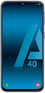 Dispositivo Samsung Galaxy A40
