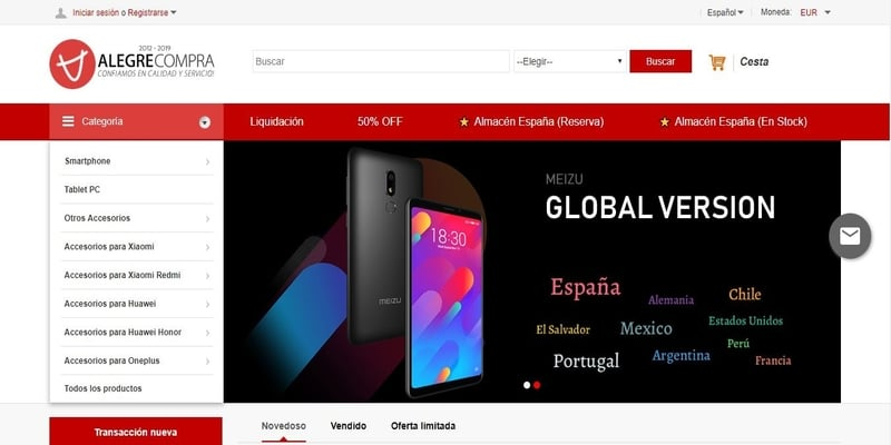 Donde comprar móviles chinos en España - Alegre Compra