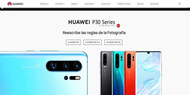 Donde comprar móviles chinos en España - HUAWEI
