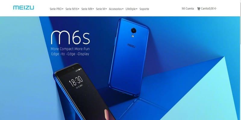 Donde comprar móviles chinos en España - MEIZU