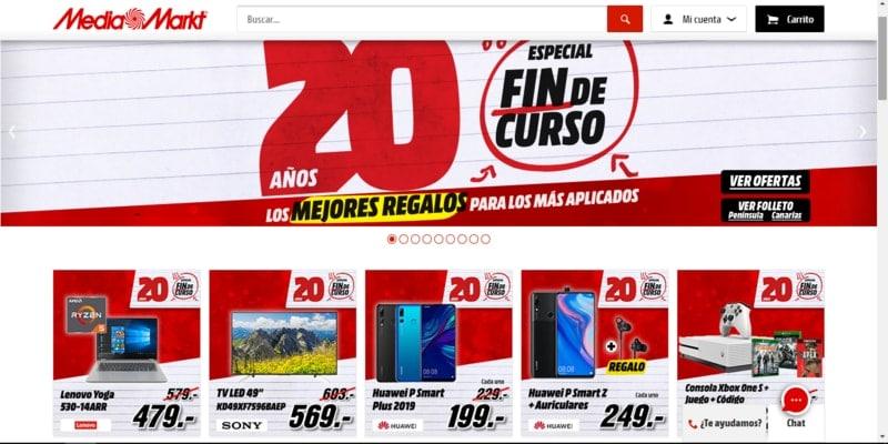 Donde comprar móviles chinos en España - Media Markt