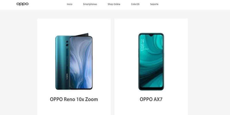 Donde comprar móviles chinos en España - OPPO