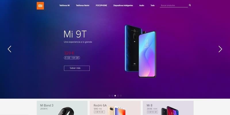 Donde comprar móviles chinos en España - Xiaomi