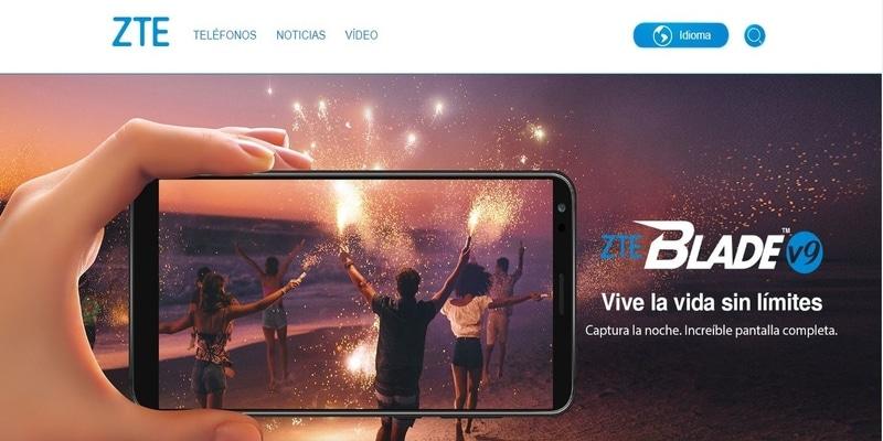 Donde comprar móviles chinos en España - ZTE
