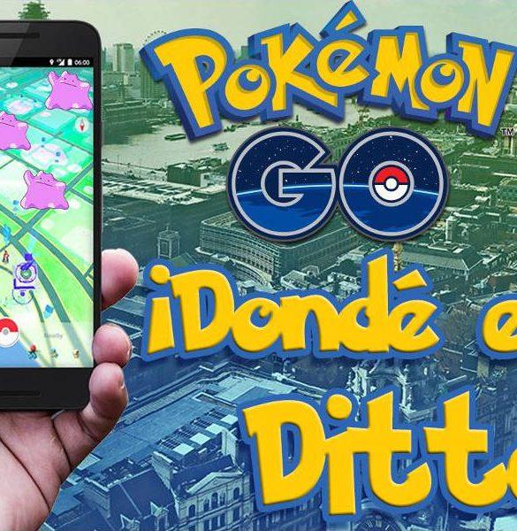 Donde esta Ditto en pokémon GO