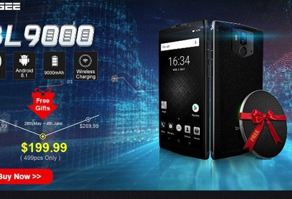 Doogee BL9000 oferta en Banggood