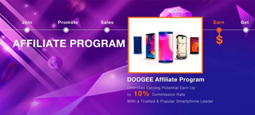 Doogee Programa de afiliados