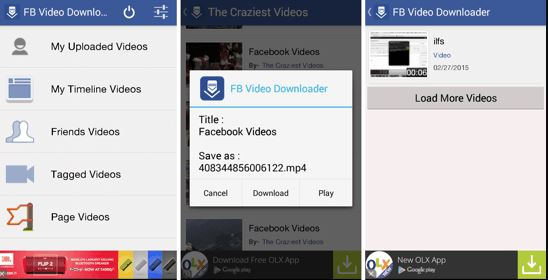Downloader-for-Facebook-Videos-Android-App 2 - como descargar videos de facebook