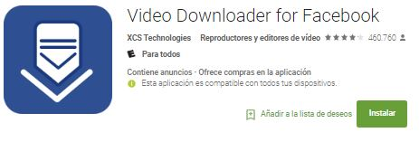Downloader-for-Facebook-Videos-Android-App3 - como descargar videos de facebook