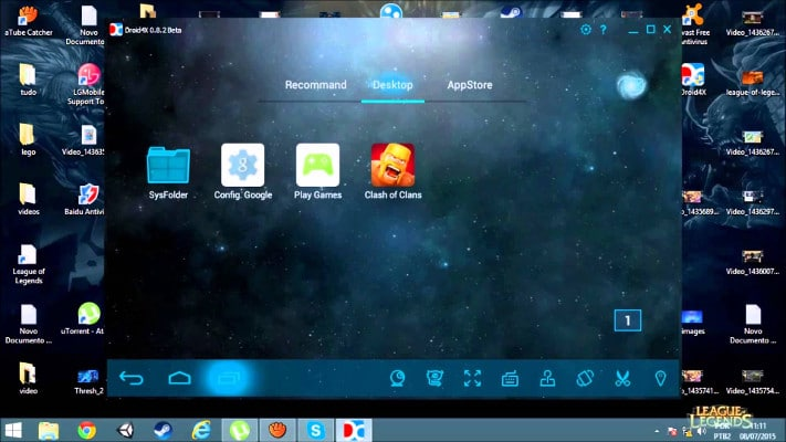 Emulador Android Droid4x