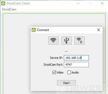 DroidCam app instalación 4