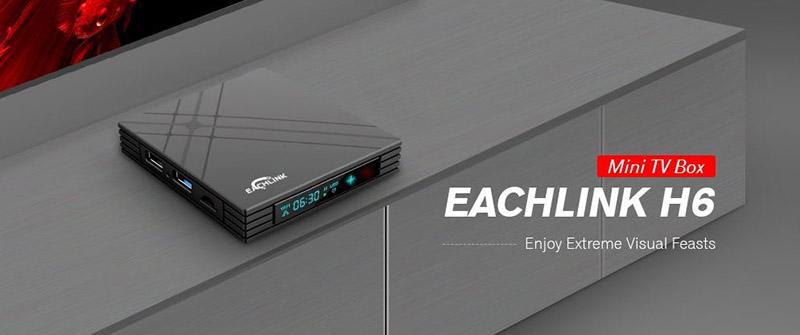 EACHLINK H6 Mini TV Box pantalla