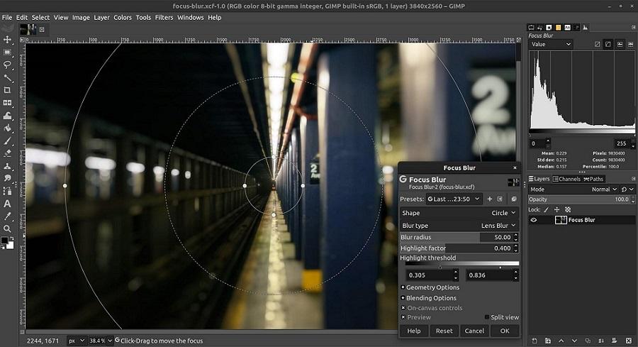 Editor GIMP para PC
