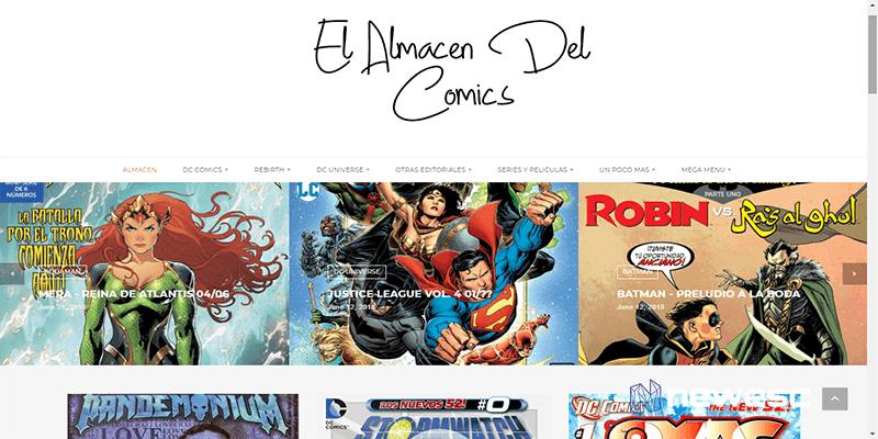 El Almacén del cómic- descargar cómics gratis
