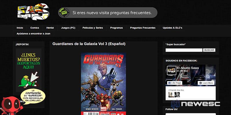 El abuelo Sawa - descargar cómics gratis