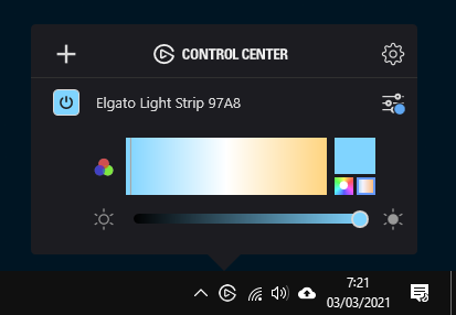 ElGato Light Strip Review Windows app