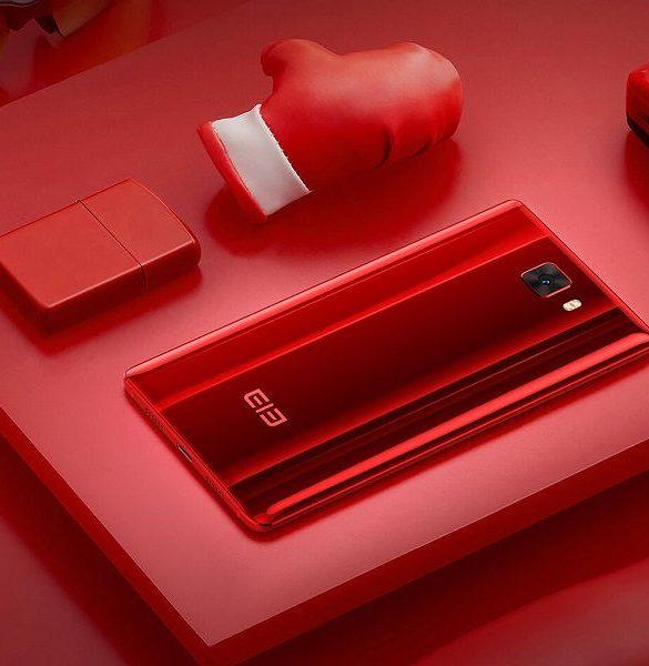 Elephone 8 red portada