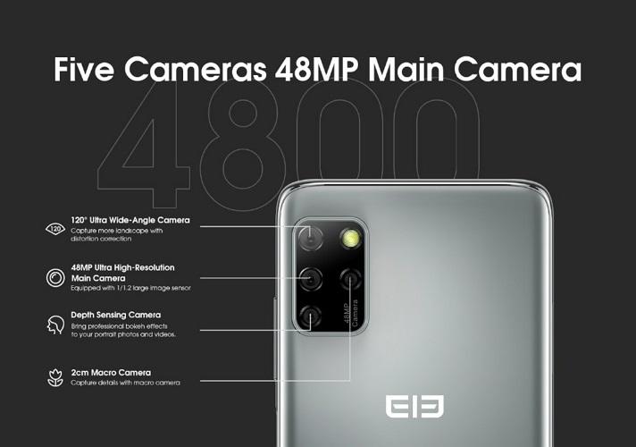 Elephone E10 Pro cámaras