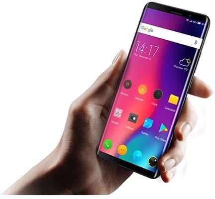 Elephone U Pro diseño