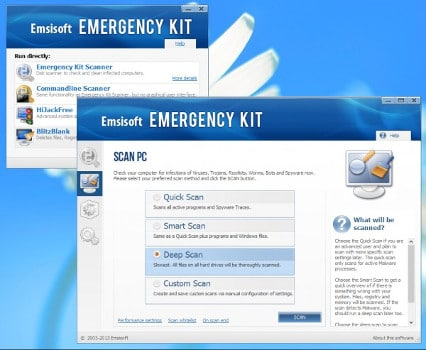Emsisoft Emergency Kit antivirus