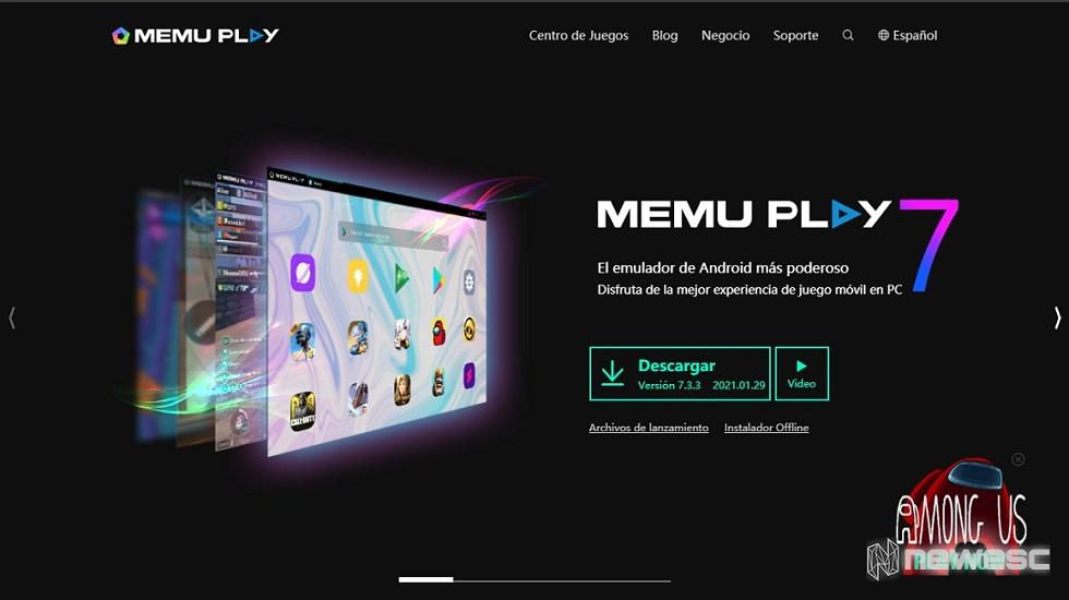 Emulador MEmu Play